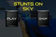 Extreme Sky Racing: Menu
