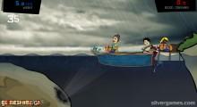 Feed Us 3: Sinking Boat Fish
