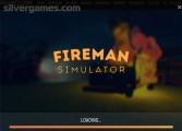 Fireman Simulator: Menu