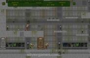 Flash DOOM 2D: Gameplay Maze