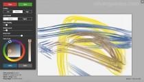 Fluid Paint: Canvas Drawing