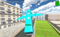 Flying Bus Simulator: Flying