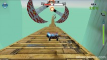 Flying Car Stunt 2: Screenshot