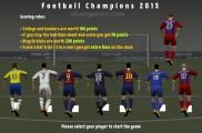 Football Champions 2015: Player Selection