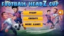 Football HeadZ Cup: Menu