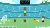 Footstar: Shooting Football Gameplay