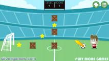 Footstar: Soccer Scoring Goal