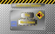 Forklift Simulator: Menu