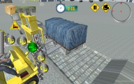 Forklift Simulator: Gameplay Lifting Cargo