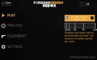Forward Assault Remix: Menu