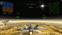 Fractal Combat X: Gameplay Attack Plane Space