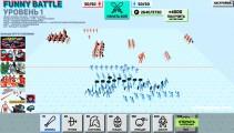 Funny Battle Simulator: Troops Battle Gameplay