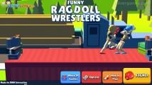 Funny Ragdoll Wrestlers: Menu