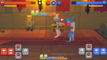 Funny Ragdoll Wrestlers: Boxing Gameplay