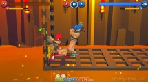 Funny Ragdoll Wrestlers: Boxing On Fire