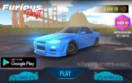 Furious Drift: Menu