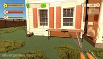 Garden Flipper: Gameplay Cutting Garden
