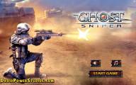 Ghost Sniper: Menu