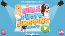 Girls Photo Shopping Dressup: Menu