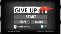 Give Up: Menu