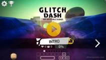 Glitch Dash: Menu