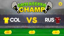 Goalkeeper Champ: Menu
