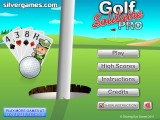 Golf Solitaire Pro: Screenshot