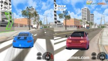 Grand City Missions: Two Player Racing