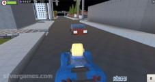 Grand Theft Auto V: Gameplay Driving City Block World