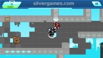Gravity Guy: Run Gravity Reaction