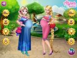 Happy Princesses Pregnant: Styling Make Up Pregnant Princess