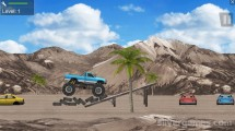Hard Wheels 2: Gameplay Car Obstacles