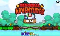 Heroball Adventures: Menu