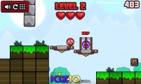 Heroball Adventures: Gameplay Red Ball Platform