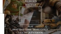 Heroes Battle: Menu