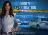 Hidden Crime Investigation: Menu