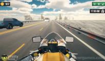 Highway Bike Simulator: Gameplay