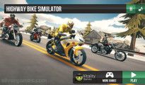Highway Bike Simulator: Menu