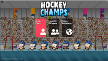 Hockey Champs: A Menu Multiplayer