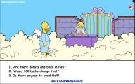 Homer Simpson Saw Game: Screenshot