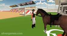 Horse Jumping Show 3D: Gameplay Horse