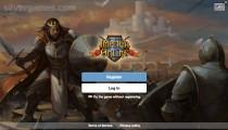Imperia Online: Menu