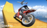 Impossible Moto Bike Track Stunts: Screenshot