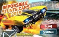 Impossible Stunts Cars 2019: Menu