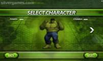 Incredible Monster: Menu Character Selection