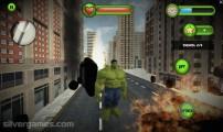 Incredible Monster: Hulk Burning Cars