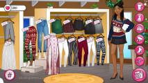 Instagirls Dress Up Christmas: Choose Pants Skirts