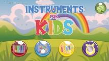 Instruments For Kids: Menu