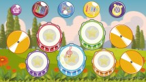 Instruments For Kids: Gameplay Percussion