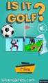 Is It Golf: Menu
